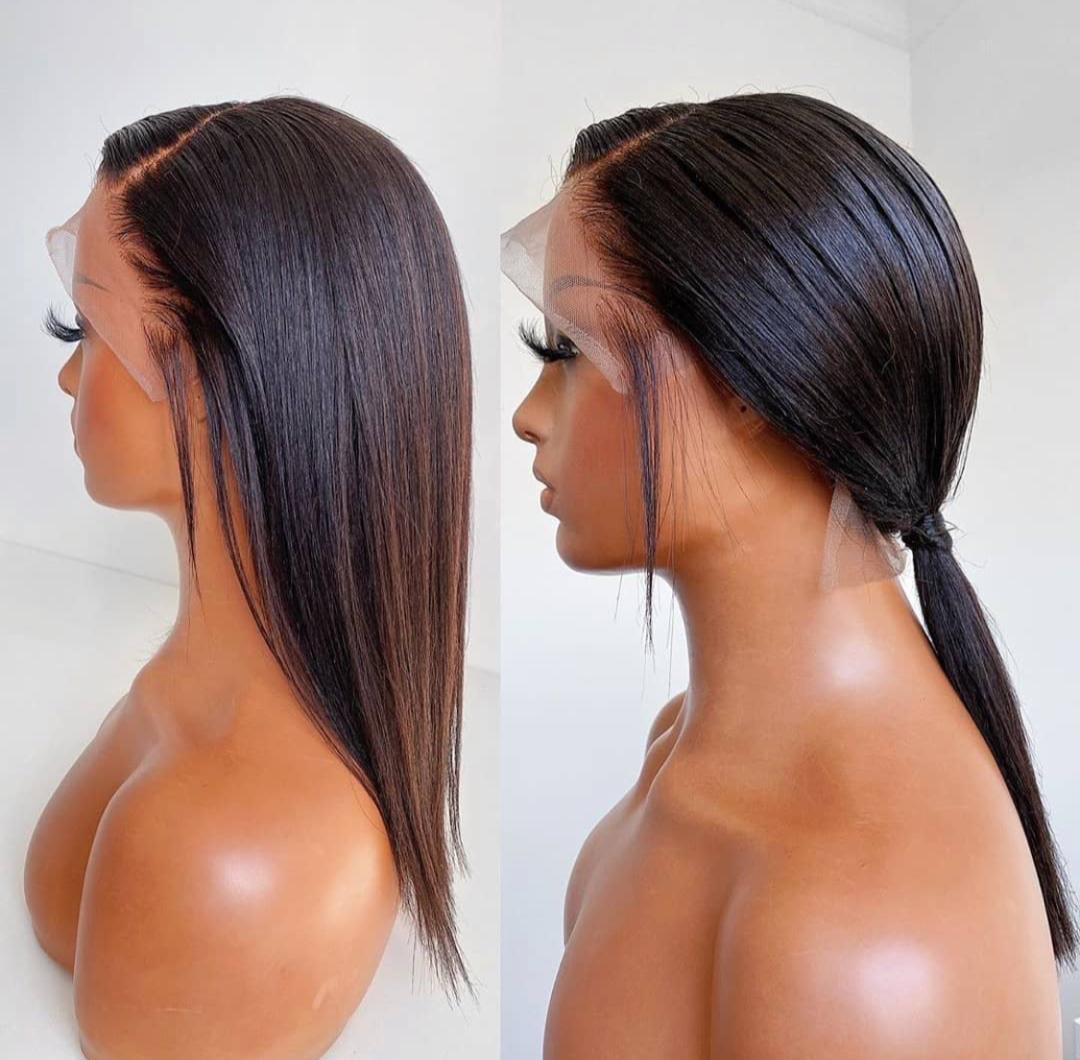 Exotic classic human hair wig